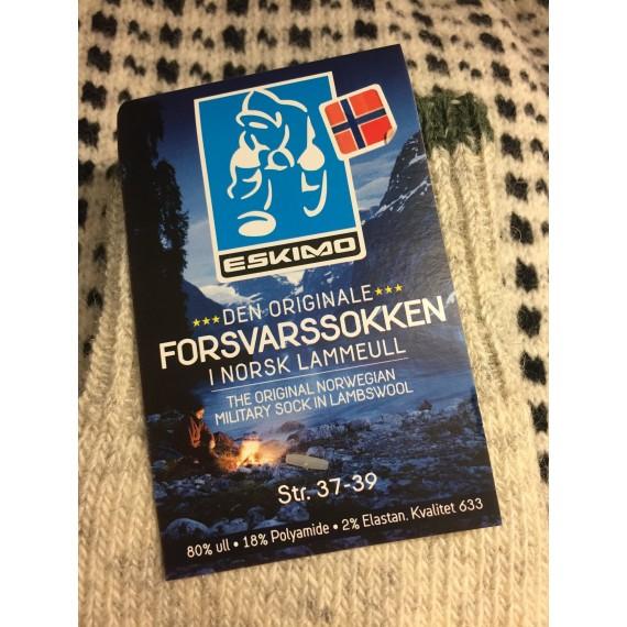 Ullsokker - Forsvaret - Grå