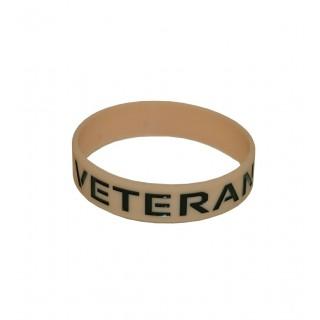 Veteranarmbånd Khaki - Silikonarmbånd