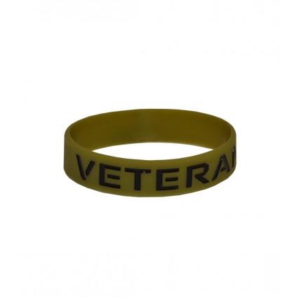 Veteranarmbånd Skogsgrønt - Silikonarmbånd
