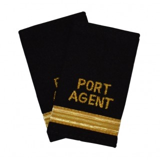 Havneagent - 1 stripe - Distinksjoner