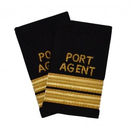 Havneagent - 2 striper - Distinksjoner