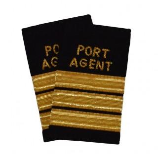 Havneagent - 3 striper - Distinksjoner