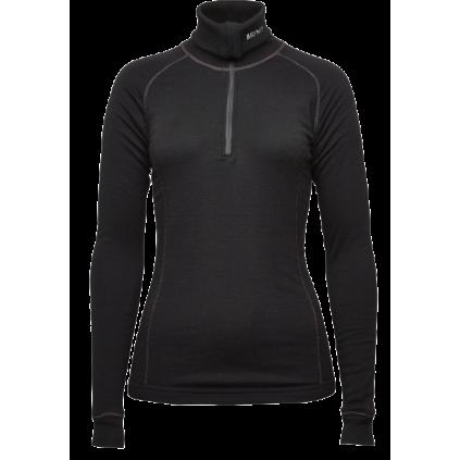 Lady arctic zip polo shirt - Brynje - Svart