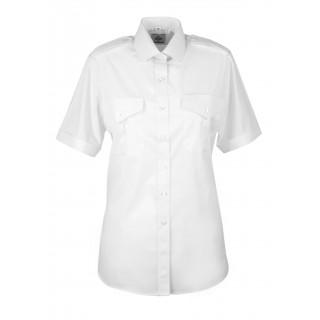 Skjorte med kort erm - Dame - Selje - Hvit