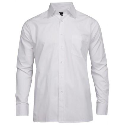 Skjorte basic regular - Tracker - Hvit