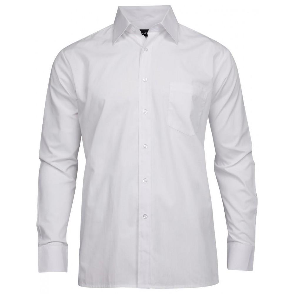 Skjorte basic dame Regular fit Tracker Hvit