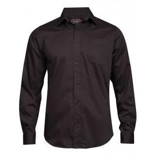 Skjorte basic regular - Tracker - Svart