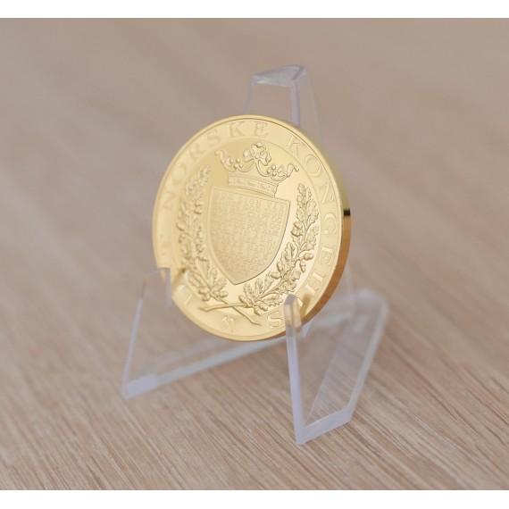 3-pakk stativ for coins, mynter, visitkort etc - Gjennomsiktig plast