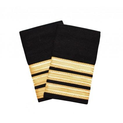 Vekter/sikkerhet - 3 gullstriper - Distinksjoner