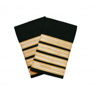 Vekter/sikkerhet - 4 gullstriper - Distinksjoner