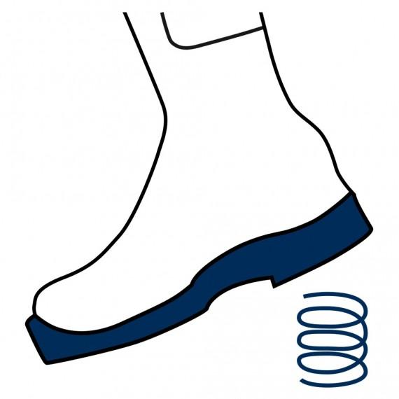 Aktiv demping beskytter føtter og ledd mot slitasje